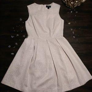 Special Occasion Off White/Cream A Line Dress Sz 8
